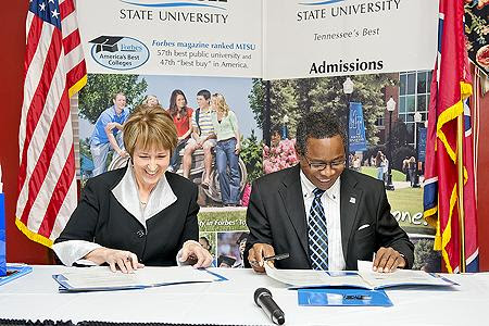 Mtsu Motlow Sign Transfer Agreement Wmot