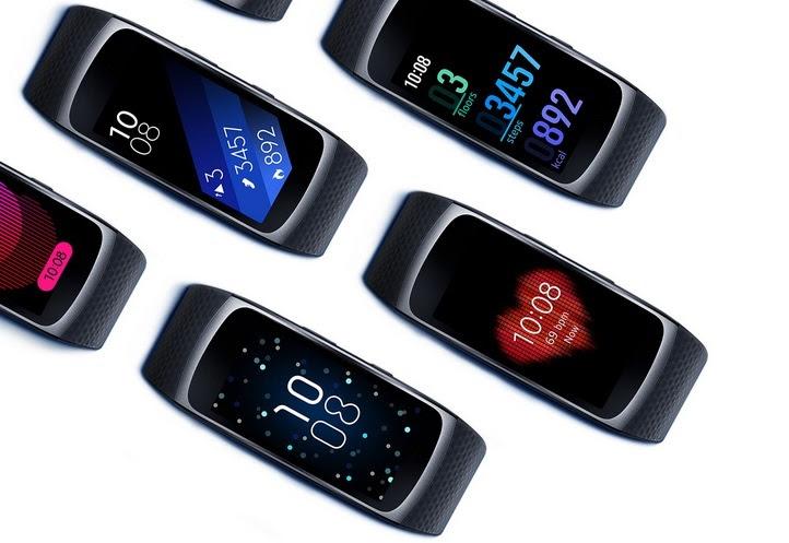 O produto é conectado aos  widgets de atividades físicas dos smartphones da marca. Foto: Divulgação/Samsung.