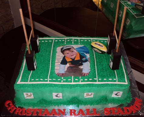 Delana's Cakes: Rugby Field Cake