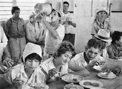 Comedor comunal Cuba