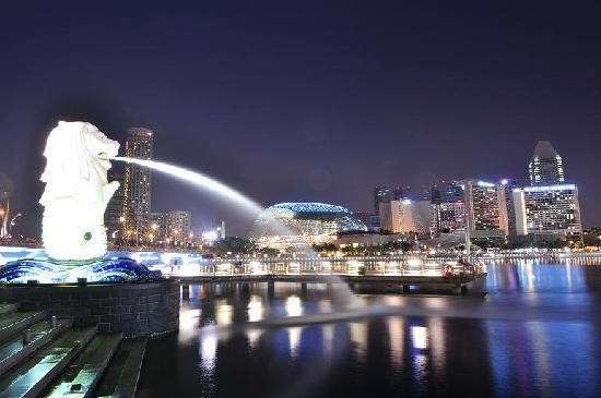 Merlion Park Singapore Location Map,Location Map of Merlion Park Singapore,Merlion Park Singapore accommodation destinations attractions hotels map reviews photos pictures
