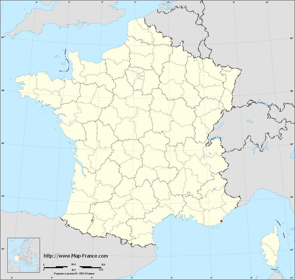 Road Map Saint Tropez Maps Of Saint Tropez 83990