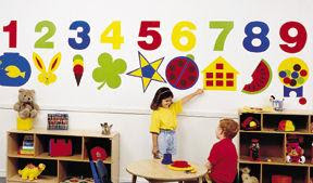 daycare decor, decorating, vinyly wall murals, acrylic safety ...