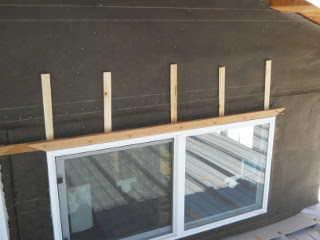 Upper Window Trim Top & Bottom with Shims