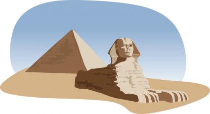 Pyramid and the Sphinx