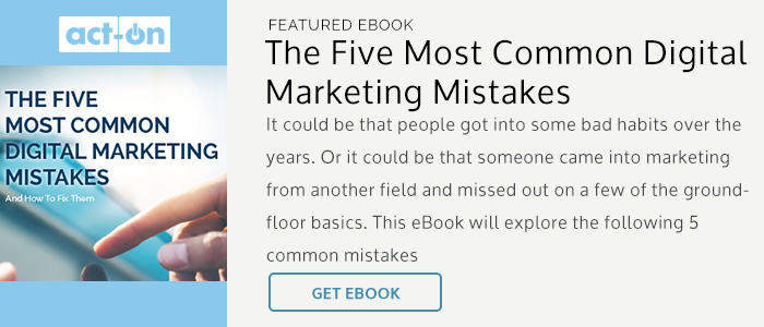 eBook: The Five Most Common Digital Marketing Mistakes