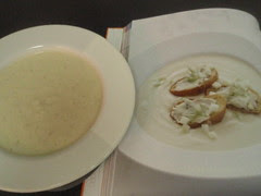 finished apple-fennel soup