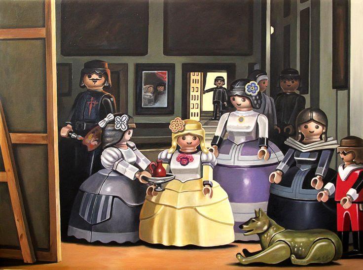 Las Meninas de Diego Velázquez