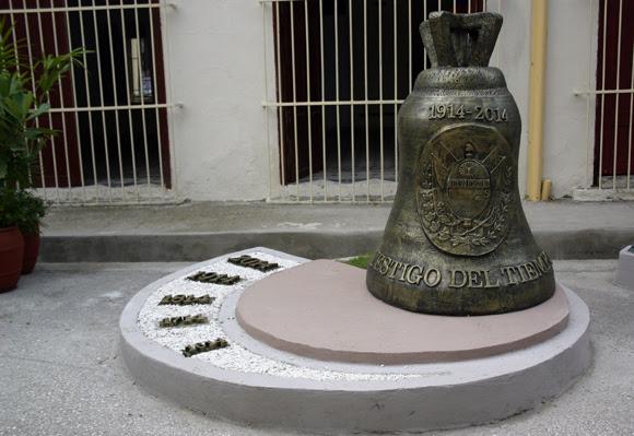 La campana que marca los cinco siglos de fundada la Villa de Sancti Spíritus. Serie Una ciudad testigo del tiempo. Foto. Daylén Vega/Cubadebate
