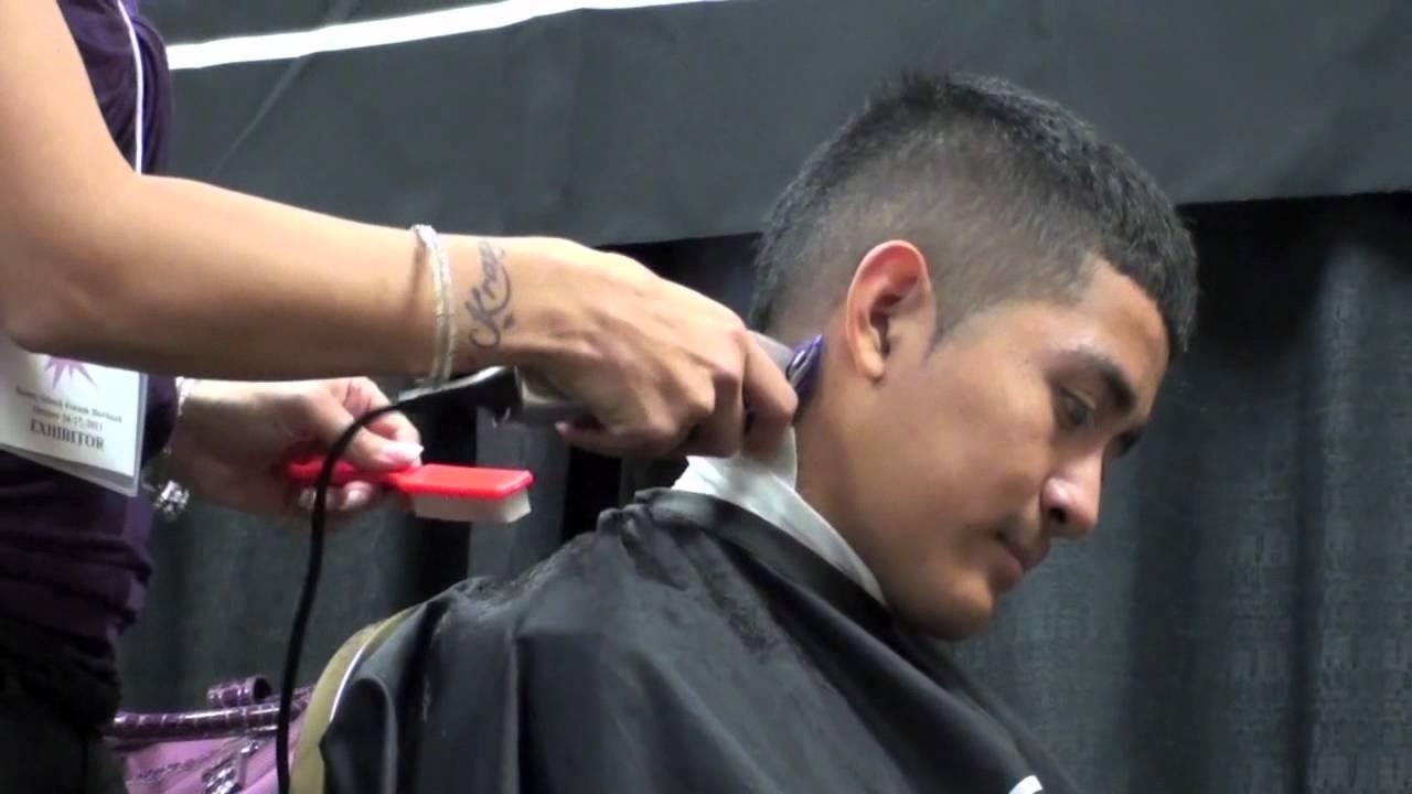 HAIRCUTTING Faux Hawk CLIPPER iCUTi FOR iMENi YouTube