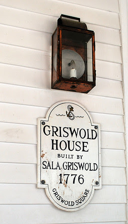 House plaque for the Griswold Inn