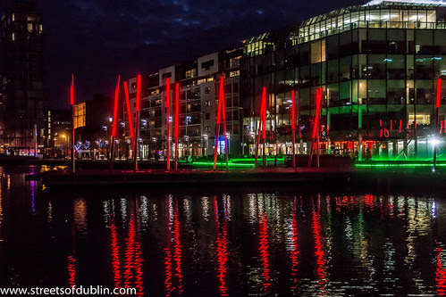 Dublin Docklands At Night (December 2012) by infomatique