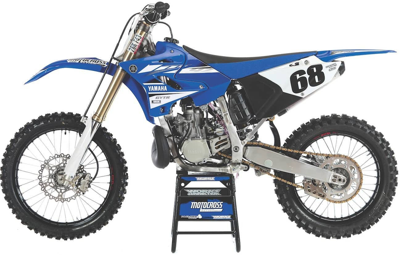 The YZ250 got a plastics update, but it just kept up with the aftermarket plastic companies who came out with it first.