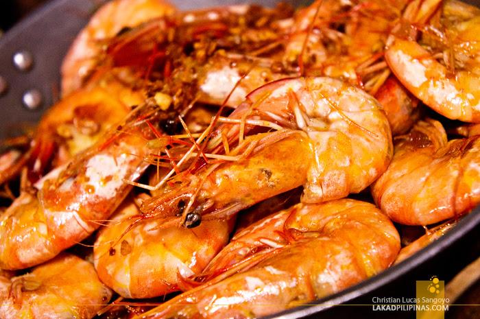 Buttered Garlic Shrimp at Aling Tonya's Seafood Dampa in Macapagal