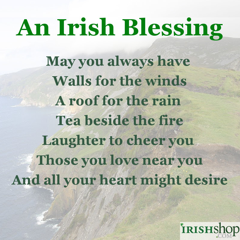 Irish Blessing Latest News Images And Photos Crypticimages