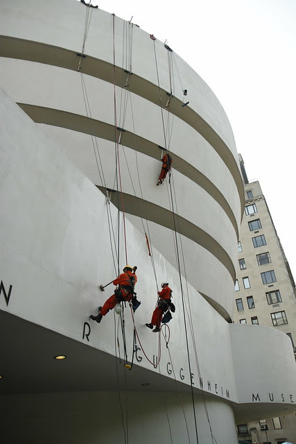 Cleaning the Guggenheim