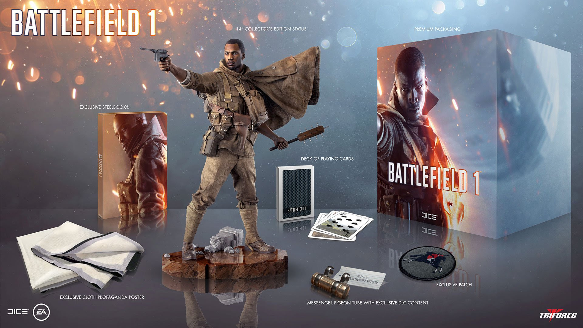 Deal: Expensive Battlefield 1 collector's edition now only $18, minus the game screenshot