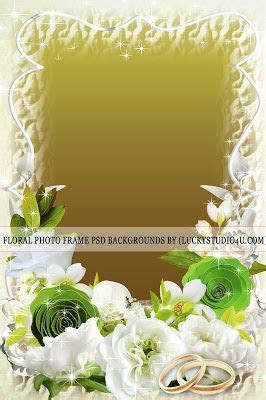 Floral Photo Frame Psd Backgrounds Download in 2019