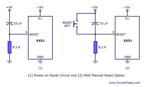 microcontroller reset circuit