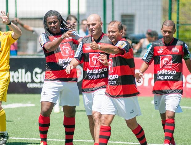 Flamengo Marquinhos Atlético-MG Brasileiro de showbol (Foto: Luiz Carlos Quadro Jr/Divulgação)