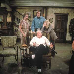 archie bunker from all in the family on his easy chair