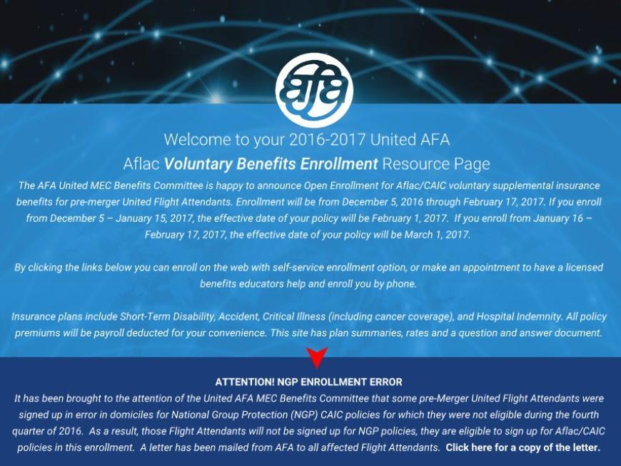 United AFA Voluntary Benefits Resource Page