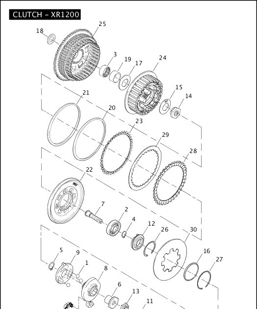Sportster Clutch Diagram