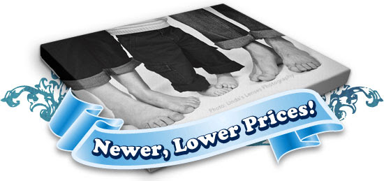 Newer, Lower Prices on Gallery Wraps