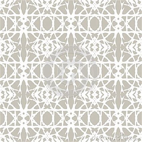 Lace Pattern With White Shapes In Art Deco Style Royalty