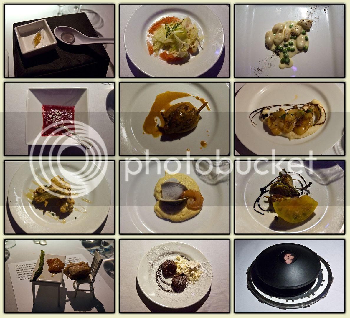 Sensorium Food Collage
