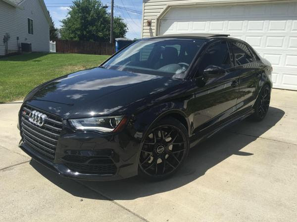 2015 Audi A3 Blacked Out