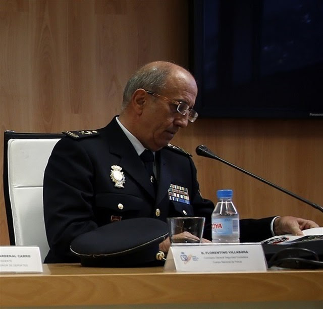 Florentino Villabona Madera, hasta ahora comisario general de Seguridad Ciudadana, nuevo director adjunto operativo de la Policía Nacional . / REUTERS