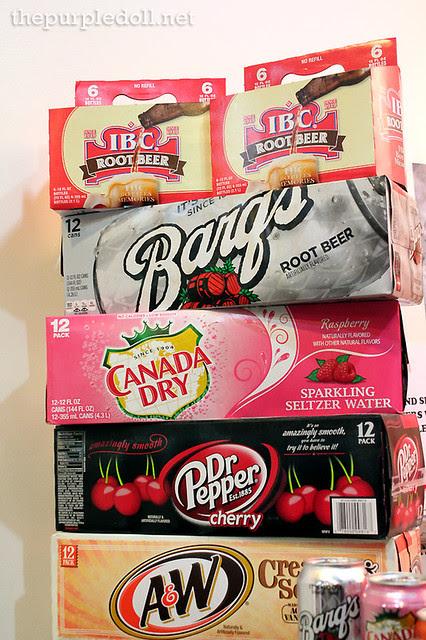 Imported Sodas