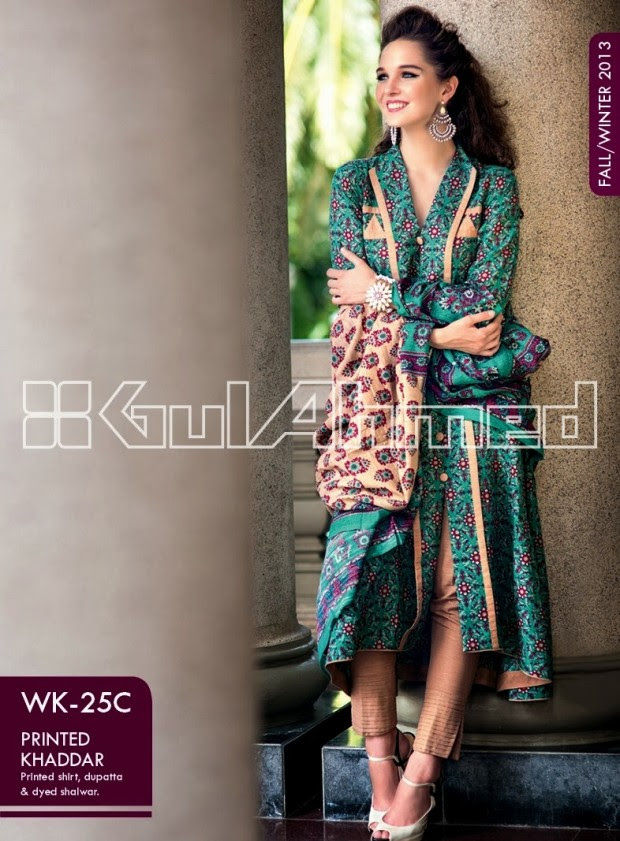 Beautiful-Cute-Girls-New-Fashionable-Dress-Design-by-Gul-Ahmed-Fall-Winter-Collection-2013-14-11