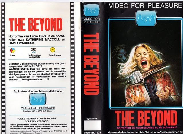 The Beyond (VHS Box Art)
