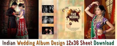 Pre Wedding Album Design PSD DM Sheets Collection StudioPk