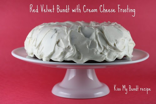 Kiss My Bundt Red Velvet Bundt - I Like Big Bundts