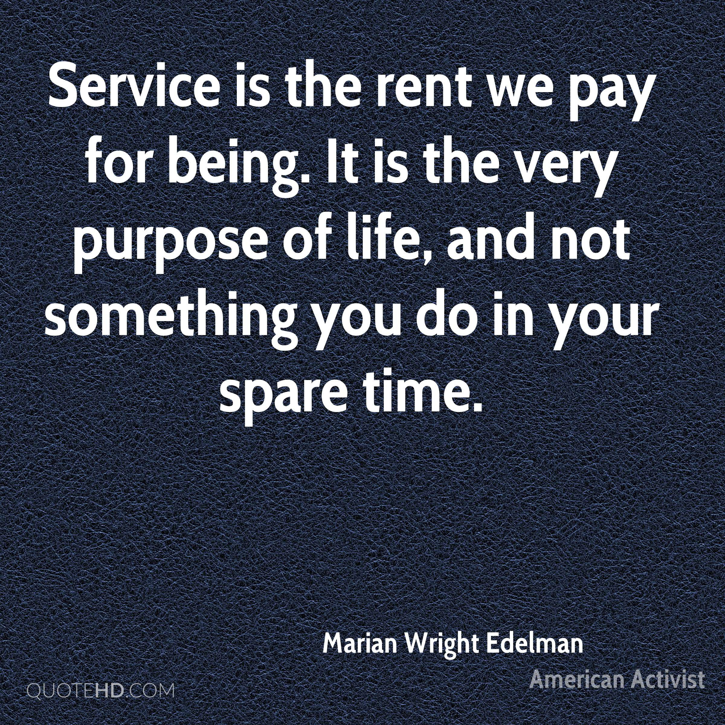 Marian Wright Edelman Time Quotes Quotehd
