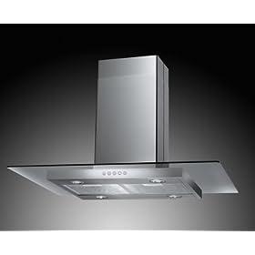 Akdy 36 Euro Style Az610i Stainless Steel Island Mount Range Cooking Appliances