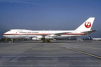 JAL-Japan Airlines Boeing 747-246B JA8122 (msn 20924) CDG (Christian Volpati). Image: 913441.