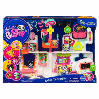 LITTLEST PET SHOP RESCUE TAILS CENTER