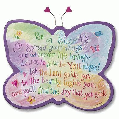 Be A Butterfly Spread Your Wings And Whatever Life Brings