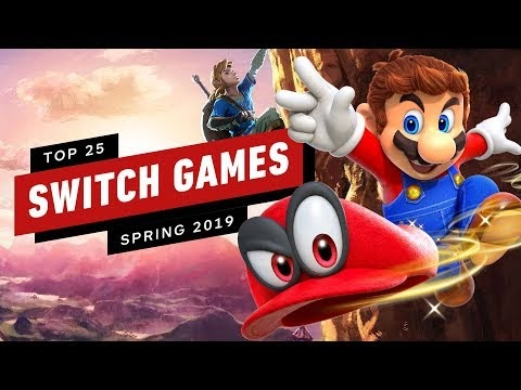 Top 25 Nintendo Switch Games of Spring 2019