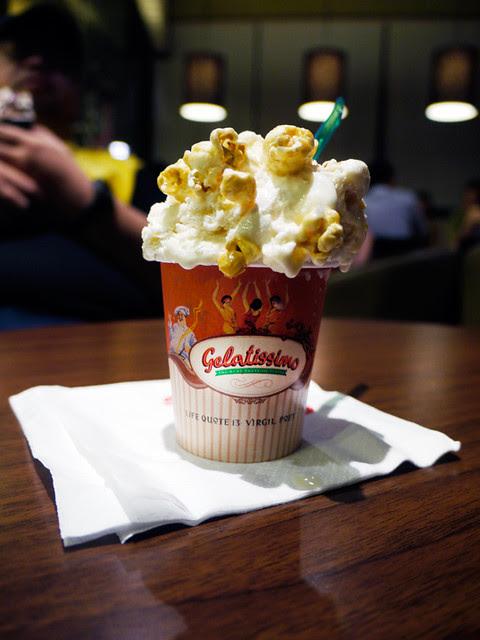 gelatissimo popcorn gelato