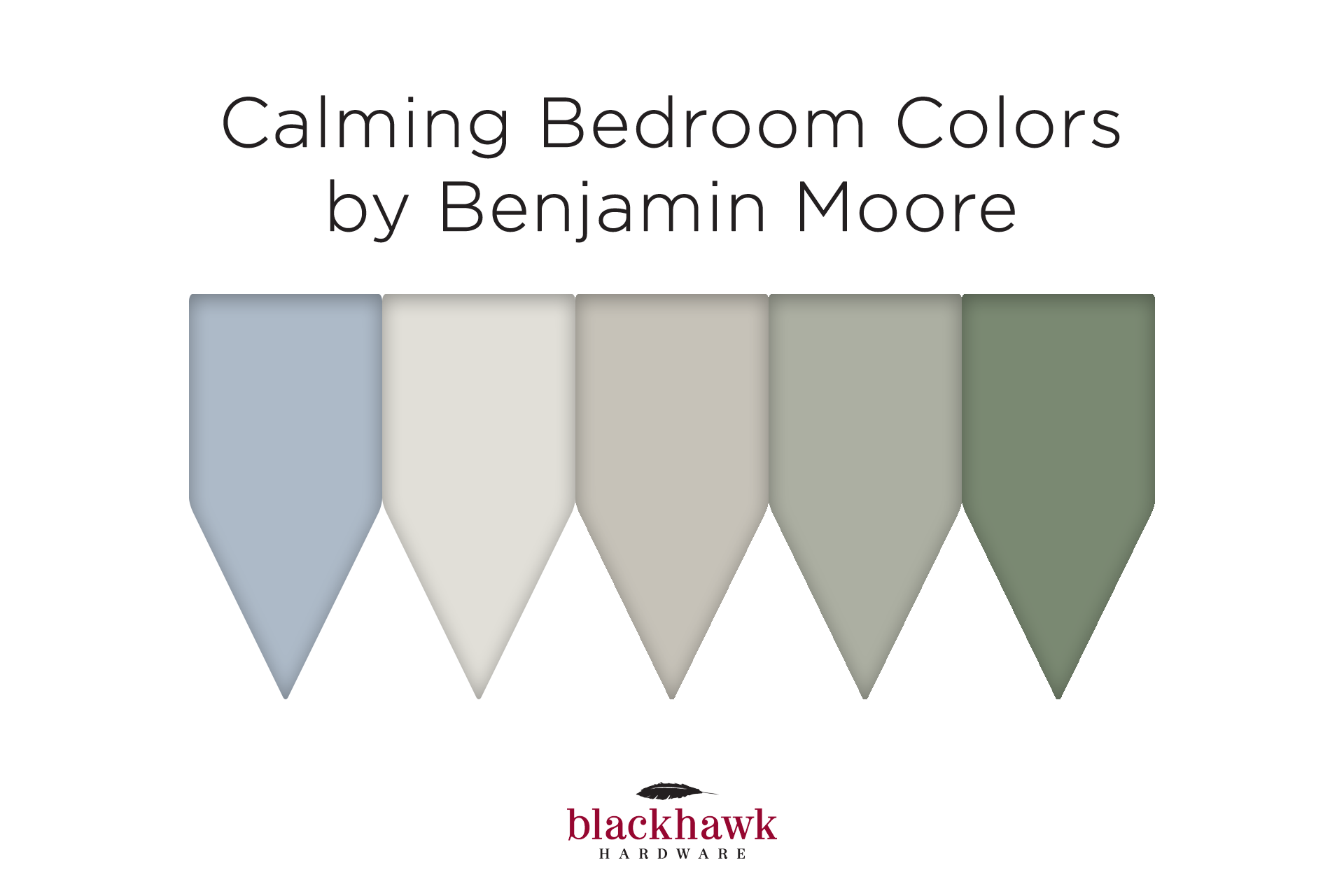 calming paint colors for bedrooms