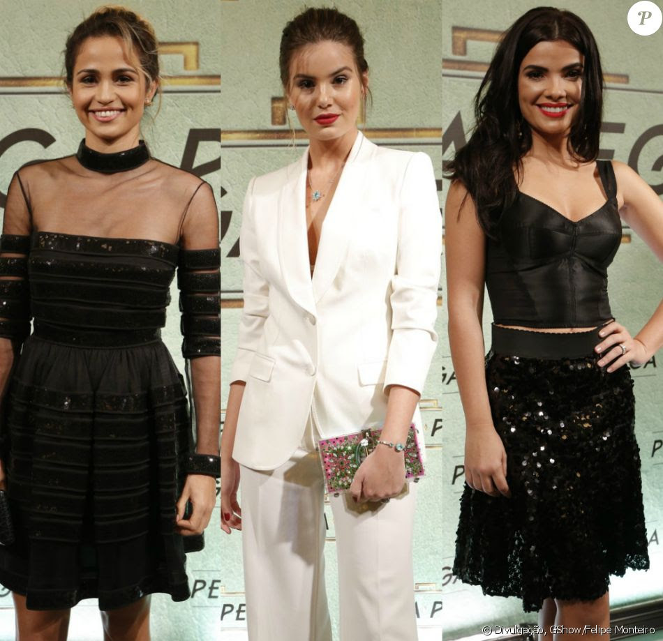 Veja os looks de Nanda Costa, Camila Queiroz, Vanessa Giácomo e outras famosas na festa de lançamento de 'Pega Pega'!