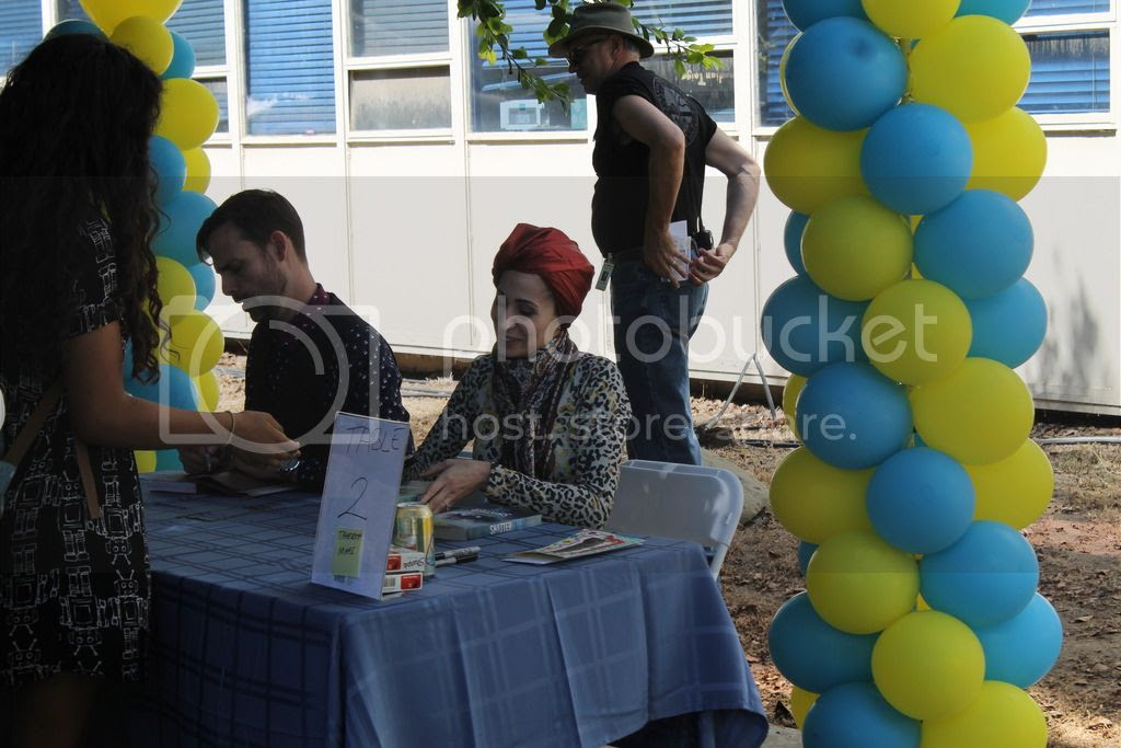 The Book Rest - YALLWEST - Ransom Riggs and Tahereh Mafi