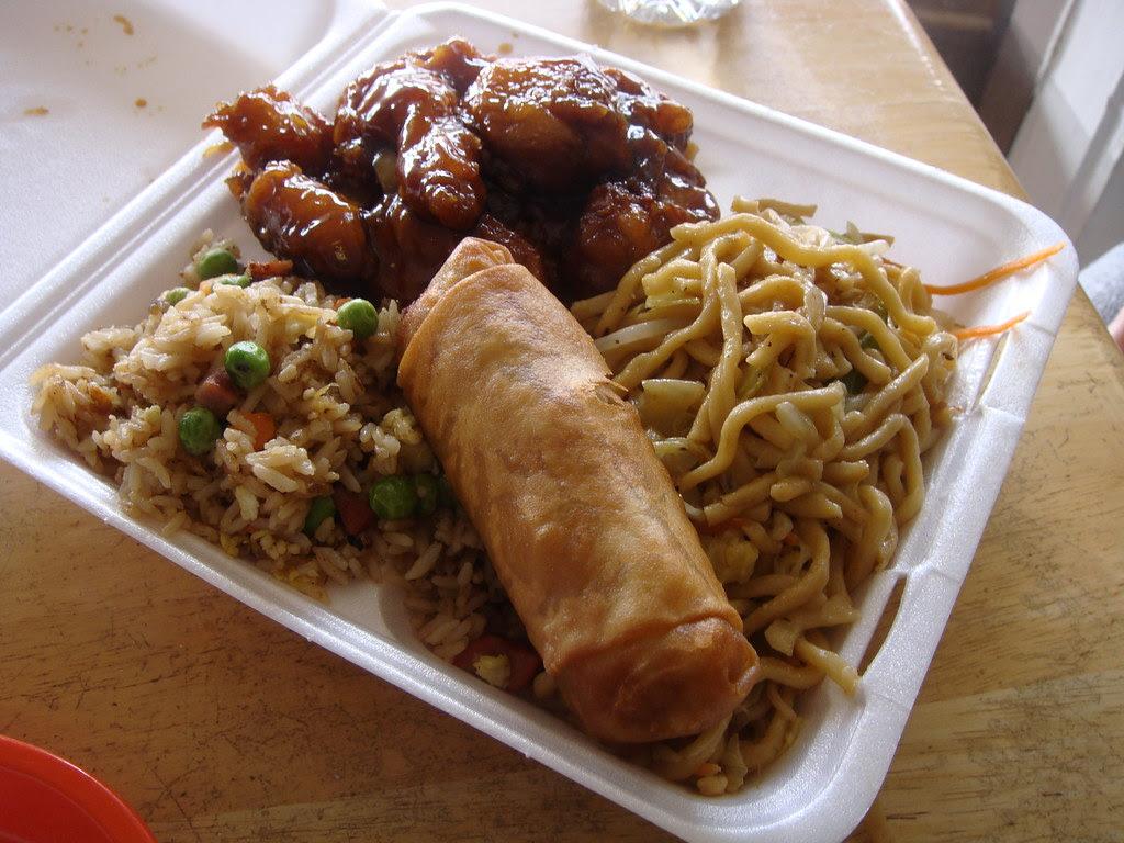 General Tsao's Chicken Lunch Combo