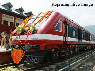 The first lot of specialized rails known as 'thick web asymmetric rails', was dispatched by Steel Authority of India's Bhilai Steel Plant.