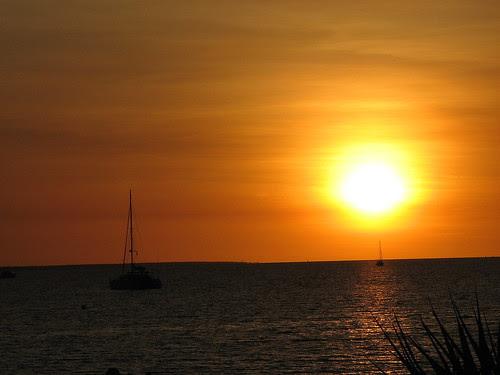 Sunset, Darwin Sailing Club, Fannie Bay